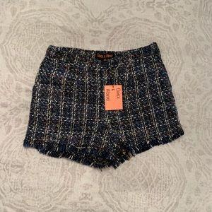 Dance & Marvel Tweed Shorts